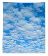 Alto-cumulus Fleece Blanket