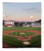 Altoona Curve Baseball Sunset Fleece Blanket