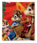 Alvin And The Chipmunks Chipwrecked Fleece Blanket