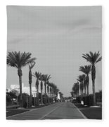 Alys Beach Entrance Fleece Blanket