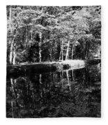 Am Alten Kanal Fleece Blanket