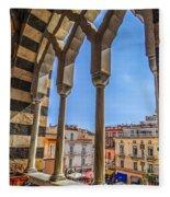 Amalfi Arches Fleece Blanket