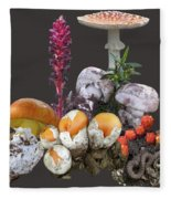 Amanitas 2 Fleece Blanket