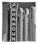 Amarillo Paramount Theatre - #1 Fleece Blanket