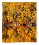 Amazing Autumn Fleece Blanket