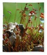 Amazing Jungle Of The Microcosm Fleece Blanket