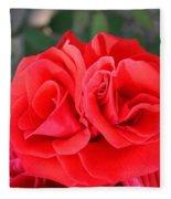 Amazing Rose Fleece Blanket