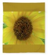 Unique Sunflower Fleece Blanket