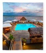 Amazon Swimming Pool Fleece Blanket