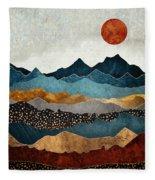 Amber Dusk Fleece Blanket
