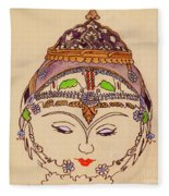 Amerat Goddess Of Flora Fleece Blanket