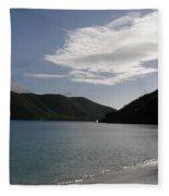 America Point Cinnamon Bay St John Usvi Fleece Blanket