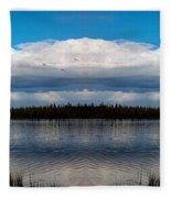 America The Beautiful 2 - Alaska Fleece Blanket