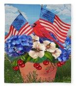 America The Beautiful-jp3210 Fleece Blanket