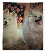 Americain Eskimo Fleece Blanket