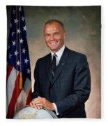 American Astonaut John Glenn Fleece Blanket