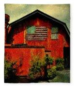 American Barn Fleece Blanket