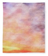 American Beach Cottage Art And Feelings-3 Fleece Blanket
