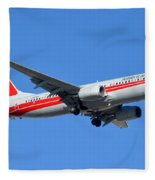 American Boeing 737-823 N915nn Phoenix Sky Harbor January 11 2015 Fleece Blanket