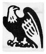 American Eagle, 1854 Fleece Blanket