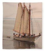 American Eagle Sail Fleece Blanket