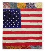 American Elegy Fleece Blanket