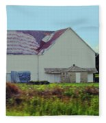 American Farm Fleece Blanket