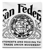 American Federationist Fleece Blanket