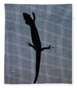 American Five-lined Skink Fleece Blanket