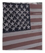 American Flag Shop Fleece Blanket