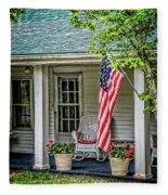 American Front Porch Fleece Blanket