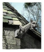 American Gargoyle Fleece Blanket
