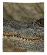 American Gator Fleece Blanket