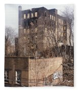 American Ghetto - The South Bronx In New York City Fleece Blanket