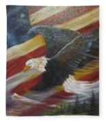 American Glory Fleece Blanket