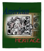 American Heritage Fleece Blanket