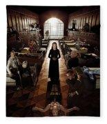 American Horror Story Asylum 2012 Fleece Blanket
