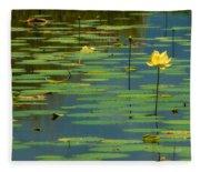 American Lotus Fleece Blanket