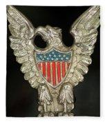 American Metal Eagle Fleece Blanket