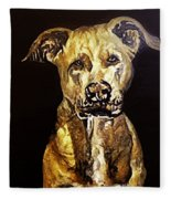 American Pitbull Fleece Blanket