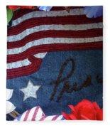 American Pride Fleece Blanket