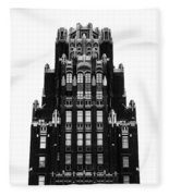 American Radiator Building Fleece Blanket