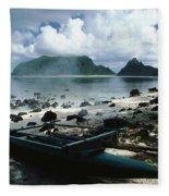 American Samoa Fleece Blanket