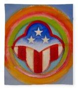 American Three Star Landscape Fleece Blanket