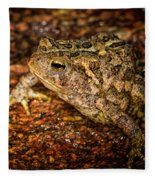American Toad Fleece Blanket