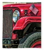 American Willys Fleece Blanket