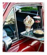 Americana - The Car Hop Fleece Blanket
