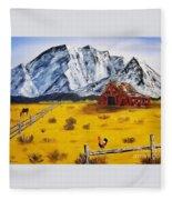 Americana - Plains Of Colorado Fleece Blanket
