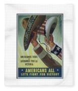 Americans All Fleece Blanket