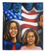 America's First Family Fleece Blanket